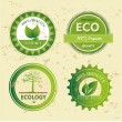 Ecology icons — Vettoriale Stock #26152653