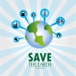 Save the earth — Stock Vector #26152749