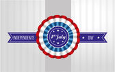 Four july — Stock Vector