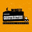 Royalty-Free Stock Vektorgrafik: Website under construction