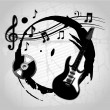 Vector de stock : Musical design