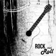 Rock and roll design — Stock Vector #26288779