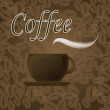 Coffee icon — Vettoriale Stock #26289029