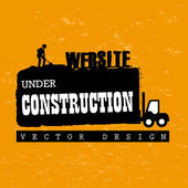 Website under construction — Stock Vector