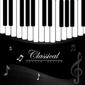 Classical music — Stock Vector