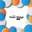 Design of circles — Vettoriale Stock #26341625