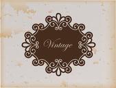 Stomme vintage — Stockvektor
