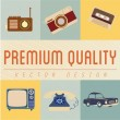 Vector de stock : Premium quality icons