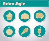 Retro style — Stock Vector