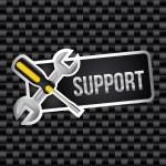 Support design — Stock Vector #26395619