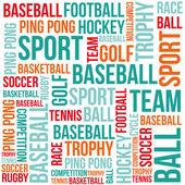 Sport background — Stock Vector