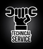 Technical service — Vector de stock