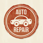 Auto repair — Stock Vector