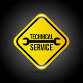 Technical service — Stockvektor