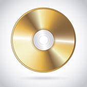 Compact disc design — Stock Vector