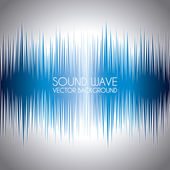 Sound wave — Vector de stock