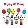 Happy birthday — Stockvektor #26480751