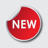 Sticker new — Stock Vector