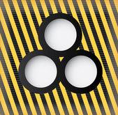 Circles design — Vetor de Stock