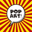 Pop art — Vector de stock #26696397