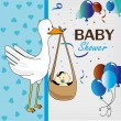 Baby shower — Stock Vector #26697941
