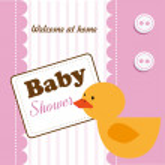 Baby showers — Stock Vector