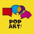 Pop art  — Vettoriali Stock