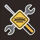 Technical service — Stock Vector