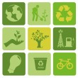 Ecology icons — Stock Vector #26824973