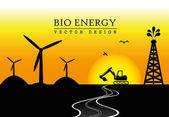 Био энергия — Cтоковый вектор
