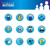 кнопки — Cтоковый вектор