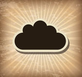 Cloud — Stock Vector