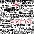 Positive design — Vector de stock #26857703