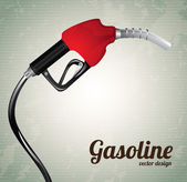 Gasoline dispenser — Stock Vector