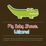 My baby shower — Stock Vector #27059171