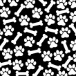 Dog background — Imagen vectorial