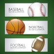 Sports labels — Stock Vector
