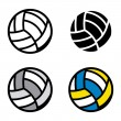 Volleyball — Stock Vector #27060535