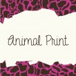 Animal print — Stock Vector #27061229