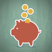Savings icon — Stockvector