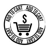 Cart shopping — Stock Vector