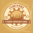 Industry — Vector de stock #27090223