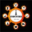 Industry icons — Stock Vector #27090297