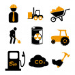 Work icons — Stock Vector #27091365