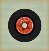 Vinyl design — Stock Vector