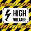 High voltage — Stock Vector