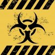 Stock Vector: Biohazard ribbon
