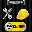 Stock Vector: Under construction