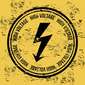 High voltage — Stockvector