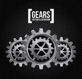 Gears — Stock Vector